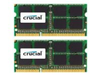 Crucial - DDR3 - 4 Gt: 2 x 2 Gt - SO-DIMM 204-pin - 1333 MHz / PC3-10600 - CL...